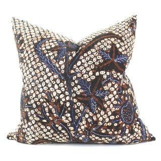 Antique Patterned Batik Pillow