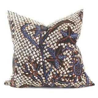Antique Patterned Batik Pillow