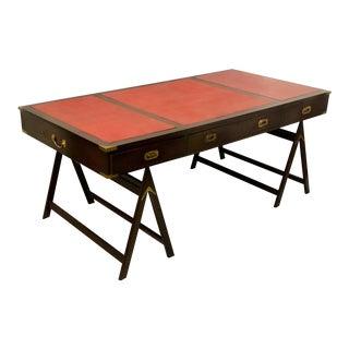 1930s Campaign Style Desk