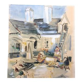 Watercolor on Paper D Albrecht