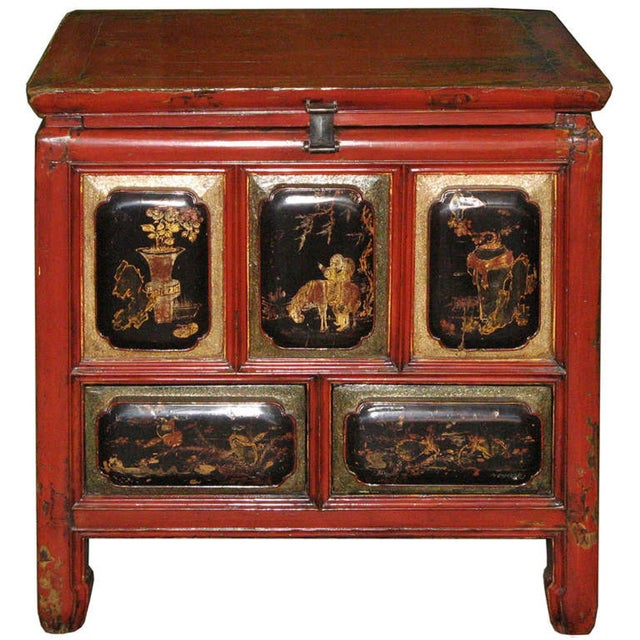 Image of Fujian Red Painted Chest