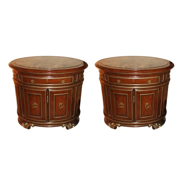 Marge Carson Night Chests - Pair - Image 1 of 7
