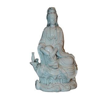 Small Chinese Porcelain Kwan Yin Statue