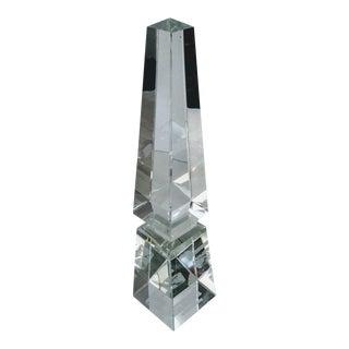 Lead Crystal Obelisk