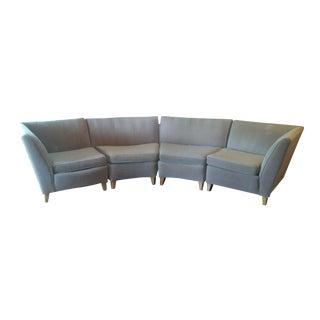 Mid-Century Modern 4-Piece Couch