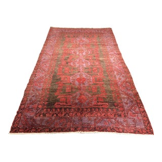 "1940s Turkish Oushak Runner - 4'8""x8'2"""
