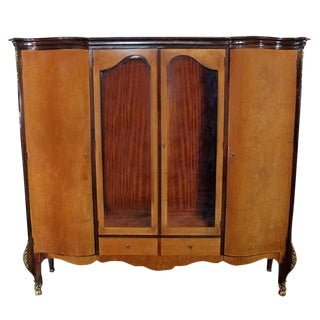 Louis XV Bronze Banded Armoire