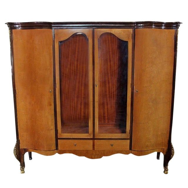 Louis XV Bronze Banded Armoire - Image 1 of 10