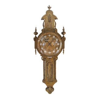 19th Century Creusy Paris Bronze French Clock