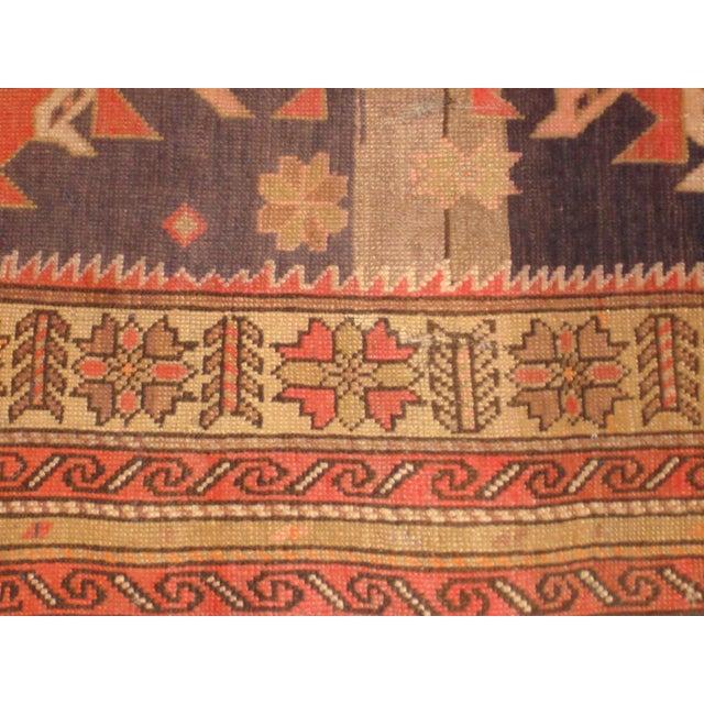 """Image of Antique Karabagh Rug - 7'1"""" x 3'9"""""""