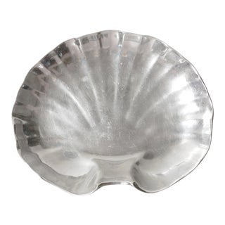 Wilton Pewter Shell Serving Platter