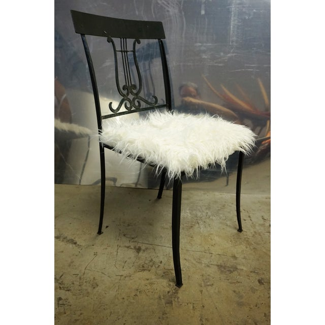 Wrought Iron Musical Chairs - A Pair - Image 3 of 6