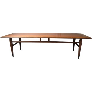 Lane Acclaim Mid-Century 1950s Coffee Table
