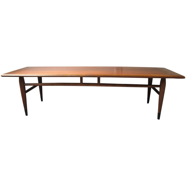 1950s Mid Century End Table By Lane Furniture: Lane Acclaim Mid-Century 1950s Coffee Table