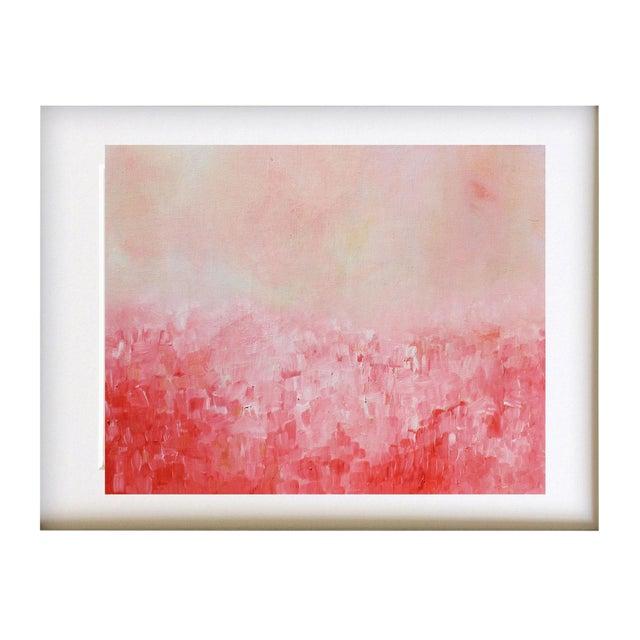 """Summer Garden"" Original Impasto Oil Painting - Image 1 of 3"