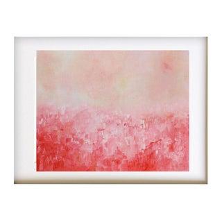 """Summer Garden"" Original Impasto Oil Painting"