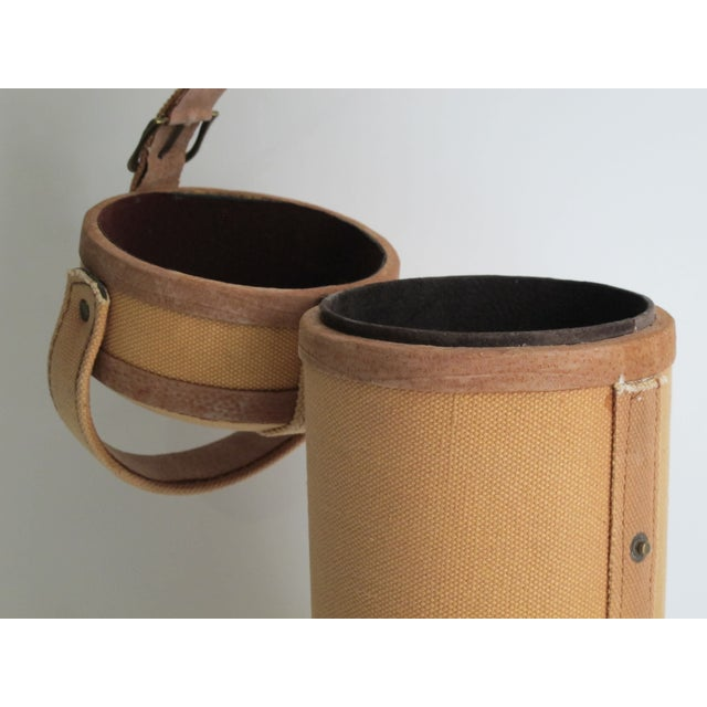 Tweed And Suede Wine Carrier - Image 8 of 8
