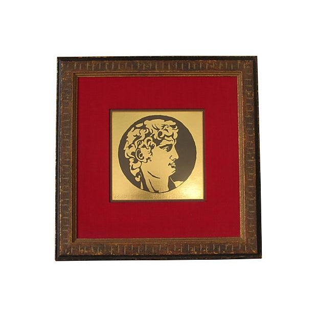 Image of Gold Portrait of David