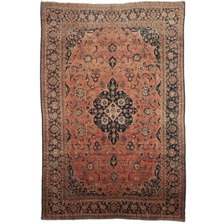 Hand Knotted Persian Tabriz Rug - 10′1″ × 14′1″