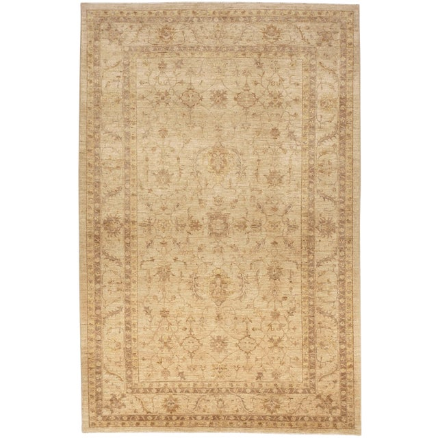 """Hand Knotted Pakistan Rug - 6'7"""" X 10'"""