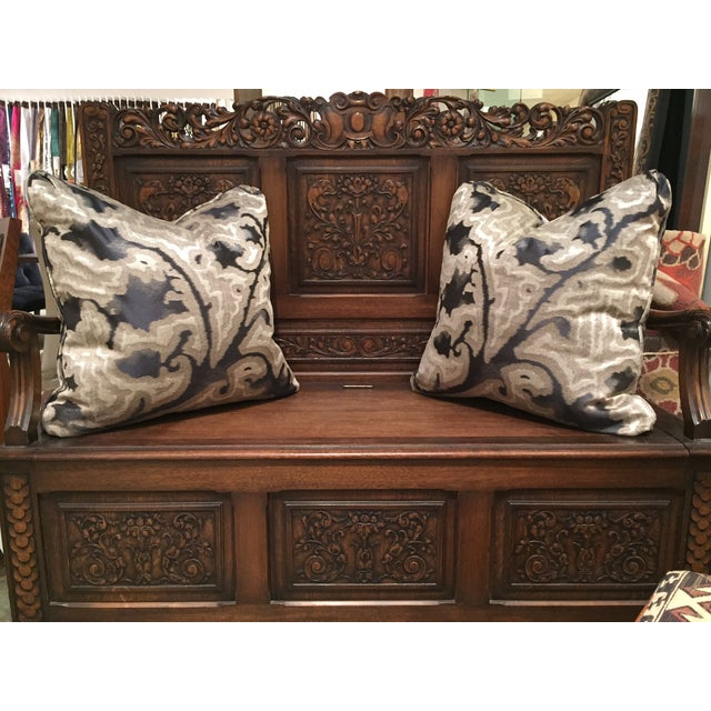 Sahco Bergamo Mida Pillows - A Pair - Image 4 of 4