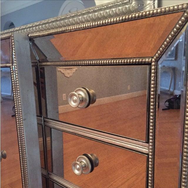 mirrored dining room dresser chairish