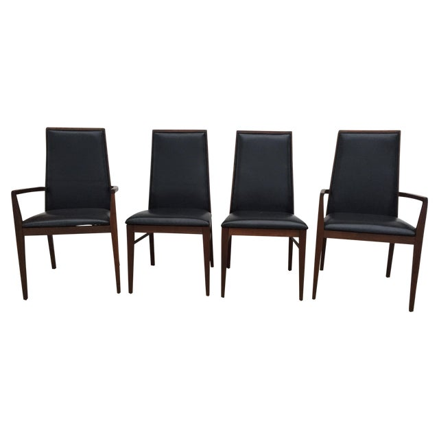 Milo Baughman Dillingham Dining Chairs - Set of 4 - Image 1 of 11