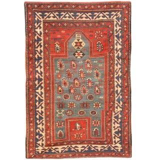 Antique 19th Century Caucasian Kazak Rug