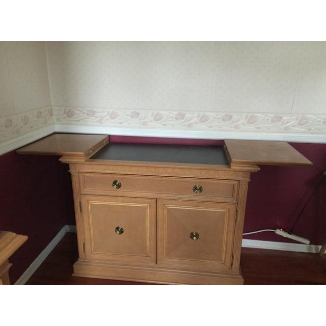 Thomasville Formal Dining Room Sets: Thomasville Formal Dining Room Oak Hutch Or Buffet Table