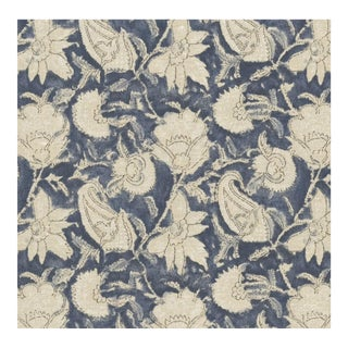 Ralph Lauren Belgrade Batik Indigo Fabric