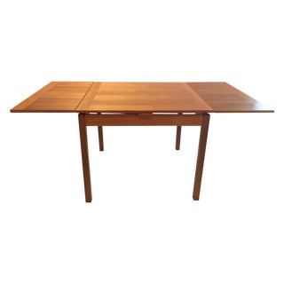 Mid-Century Danish Dining Table W/ Two Leaves