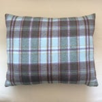 Image of Small Plaid Pillows - A Pair