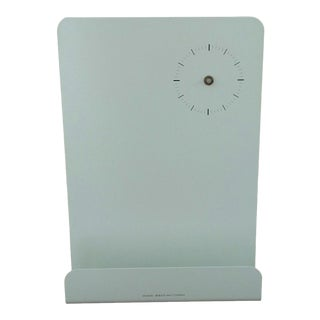 Home Organizer With Clock by Universal Expert for West Elm