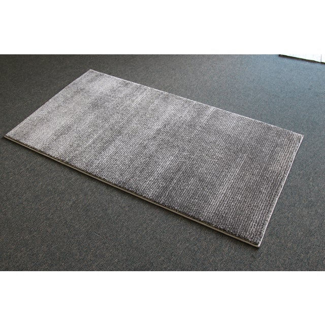 Gray Stripe Rug - 3′ × 5′ - Image 4 of 4