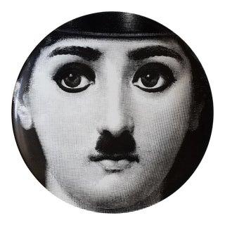 Fornasetti Lina Cavalieri Plate, Numbered 204