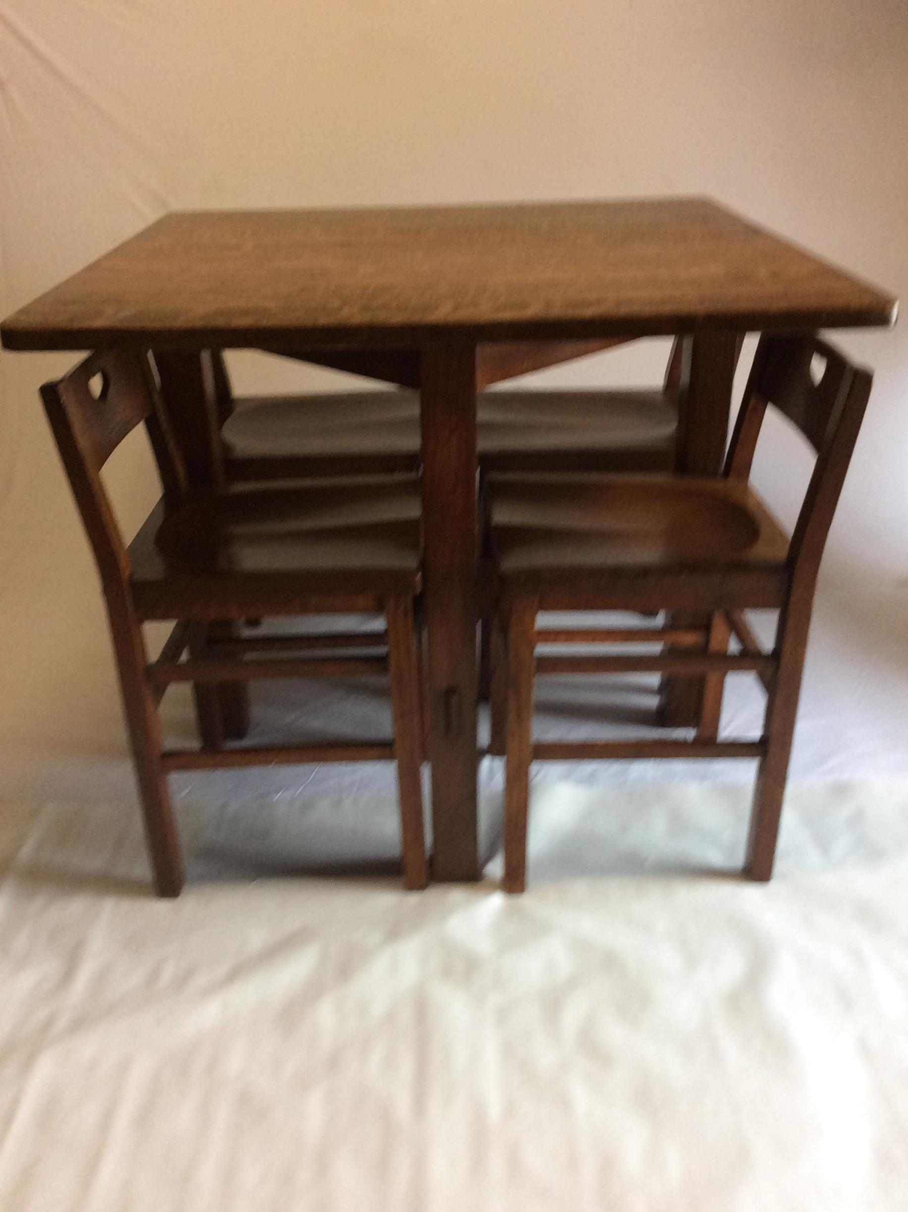 Stickley Brothers Furniture Breakfast Set   Image 3 Of 11