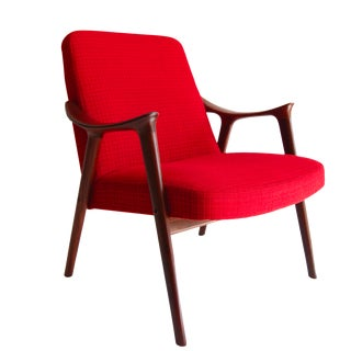 Rolf Rastad & Adolf Relling Mid-Century Modern Lounge Chair