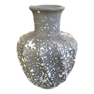Studio Splatter Glaze Pottery Vase