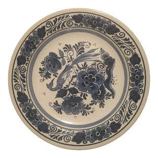 Royal Goedewaagen Blue Delft Handpainted Plate