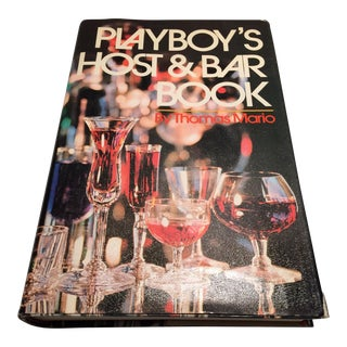 1971 Vintage Playboy's Host & Bar Book