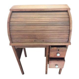 Child's Vintage Rolltop Desk