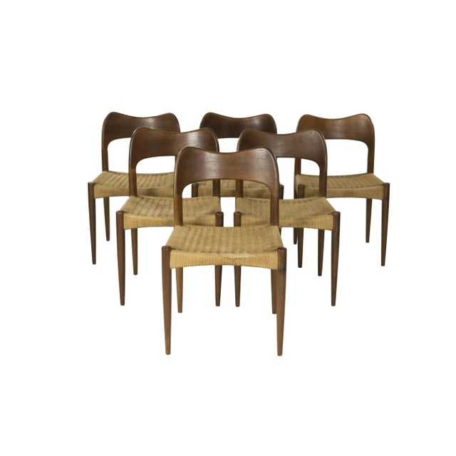 MK Mobler Vintage 1960s Dining Chairs - Set of 6 - Image 1 of 4