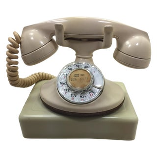 1955 Western Electric 202 Rotary Dial Desk Phone