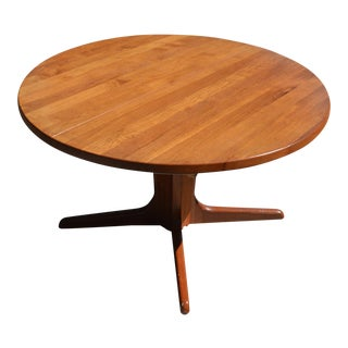 Mid-Century Danish Modern Teak Dining Table