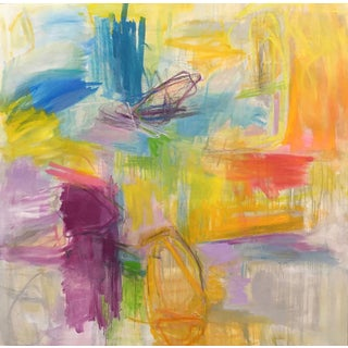 """""""Key West"""" Large Abstract Painting by Trixie Pitts"""