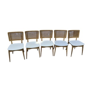 Vintage Mid-Century Stakmore Folding Chairs - Set of 5