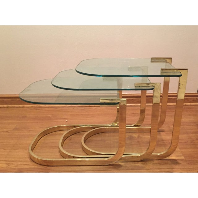 Image of Mid-Century Modern Nesting Side Tables - 3