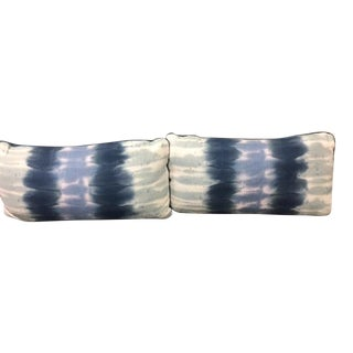 Petite Ashbury Indigo Lumbar Pillows - A Pair