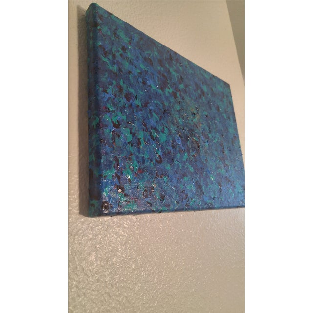 'Sea of Blue' Contemporary Painting - Image 4 of 5