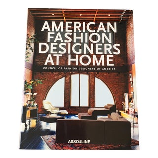 """""""American Fashion: Designers at Home"""" Coffee Table Book"""